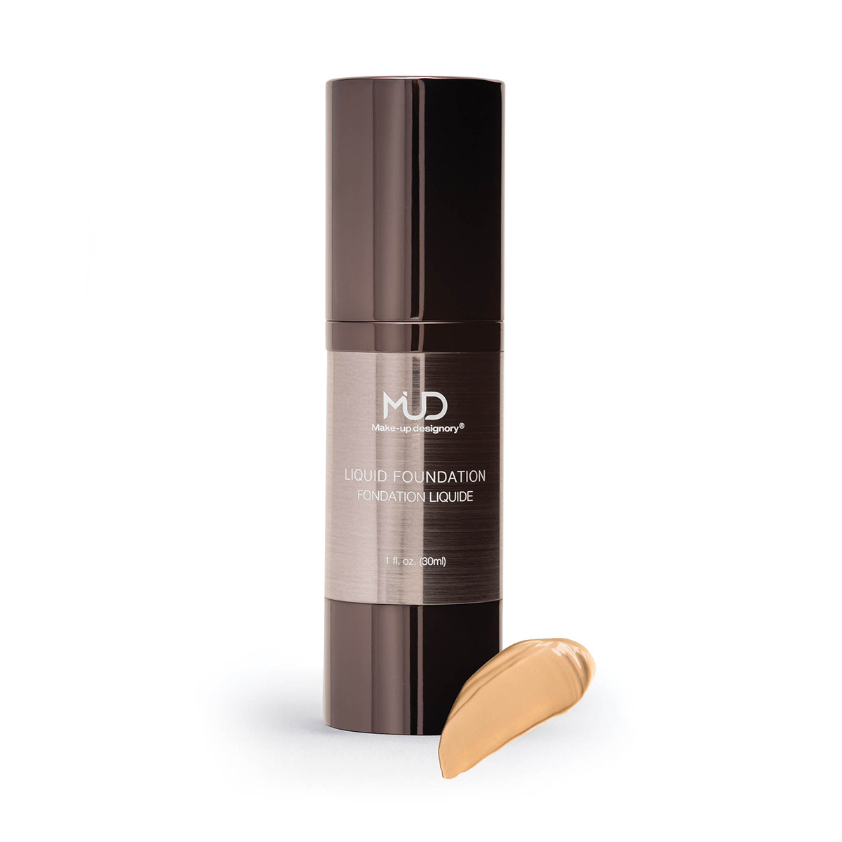 MUD Liquid Foundation L1 is an extra-light golden olive tone. Suitable for very fair olive skin tones.